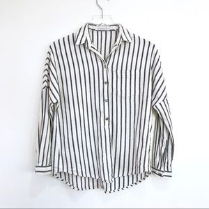 Urban Outfitters | Button Down Striped Blouse XS
